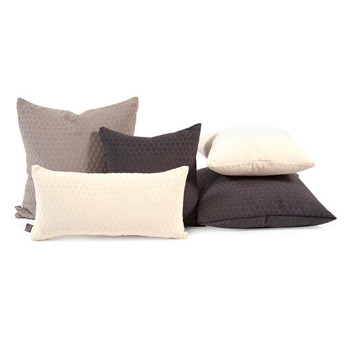 "Pillow Cover 16""x16"" Deco Stone"