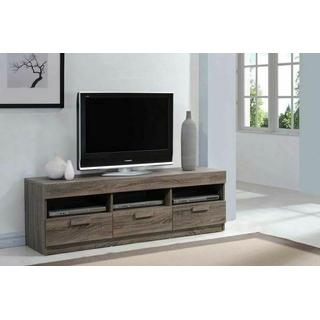 """ACME Alvin TV Stand - 91167 - Rustic Oak for Flat Screens TVs up to 60"""""""