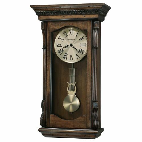 Howard Miller - Howard Miller Agatha Hardwood Wall Clock 625578