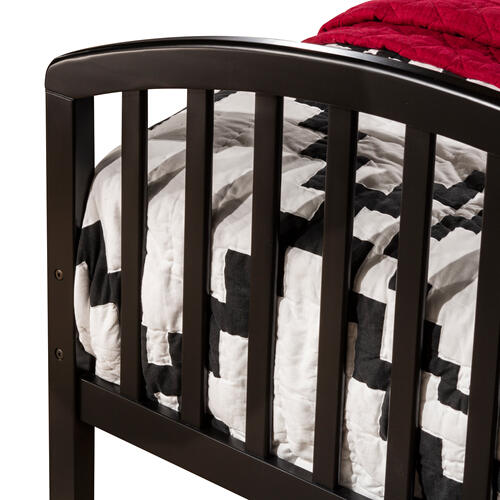 Carolina Complete Twin Size Daybed With Trundle, Rubbed Black