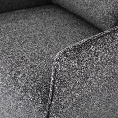 Bristol Charcoal Cover Kimble Swivel Chair