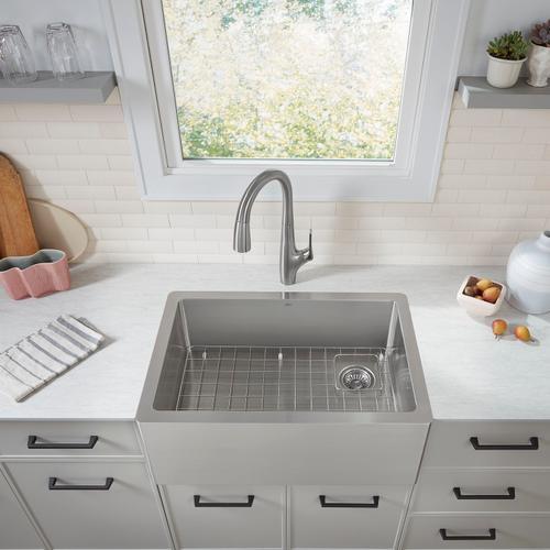 American Standard - Avery 30 x 20 Single Bowl Apron Kitchen Sink  American Standard - Stainless Steel