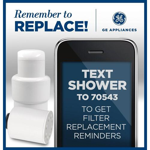 Replacement Water Filter - Shower Filtration System