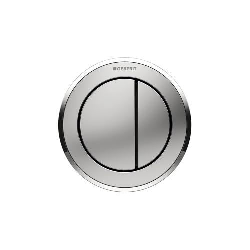 Type 10 Remote flush buttons for Sigma and Omega series in-wall toilet systems Furniture installation, Sigma or Omega 2x6 in-wall systems Compatibility Matte chrome Finish