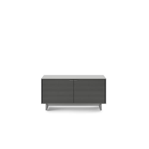 BDI Furniture - Align 7478 Media + Storage Console in Fog Grey Media Base