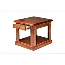 Forest Designs Traditional Alder End Table: 21W X 20H X 24D - 20h