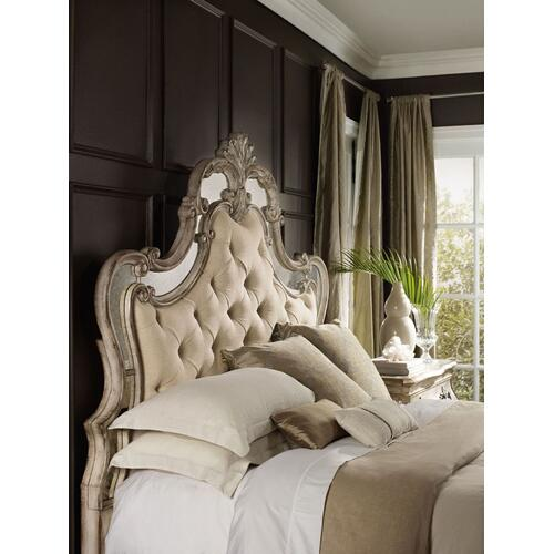 Bedroom Sanctuary King and California King Upholstered Headboard