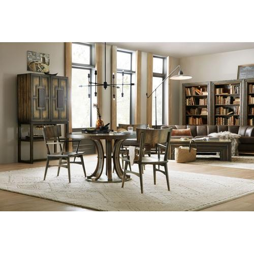 Dining Room Crafted Round Dining Table Base