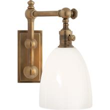 View Product - E. F. Chapman Pimlico 1 Light 6 inch Antique-Burnished Brass Single Sconce Wall Light