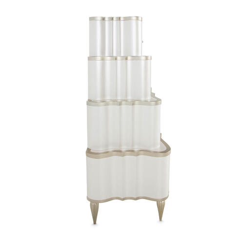 Tiered Vertical Storage Cabinets-chest of Drawers 6 DRWR.2PC