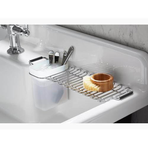 Stainless Steel Utility Rack With Cup