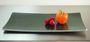Stone Plateware Plate 9x17 Sold Out / Green Gray Granite Product Image