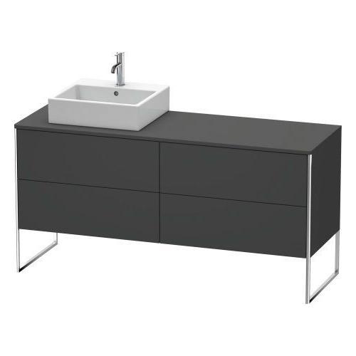 Vanity Unit For Console Floorstanding, Graphite Matte (decor)