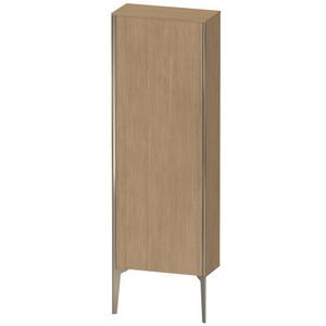 Semi-tall Cabinet Floorstanding, European Oak (decor)