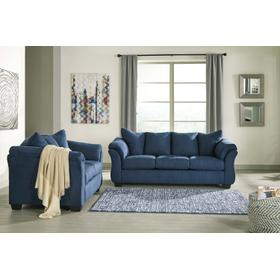 Darcy Sofa & Loveseat Blue