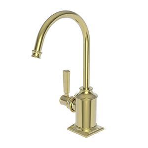 Uncoated Polished Brass - Living Hot Water Dispenser