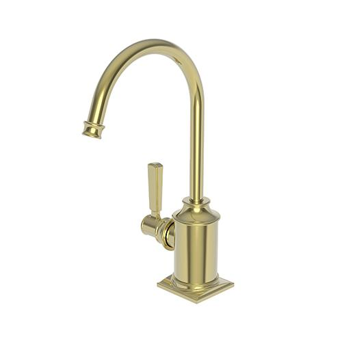 Newport Brass - Uncoated Polished Brass - Living Hot Water Dispenser