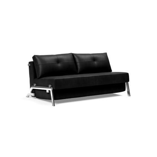 """CUBED 02 DELUXE 63""""X79"""", FRONT/MID SEAT/CUBED 02 DELUXE SOFA BACK, 63""""X79""""/CUBED LEGS, CHROME"""