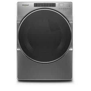 7.4 cu. ft. Front Load Electric Dryer with Steam Cycles - CHROME SHADOW