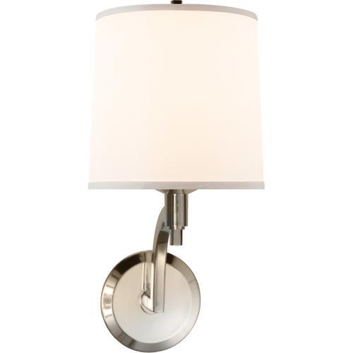 Barbara Barry Westport 1 Light 8 inch Soft Silver Decorative Wall Light