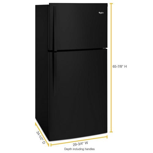 Gallery - 30-inch Wide Top Freezer Refrigerator - 19 Cu. Ft.