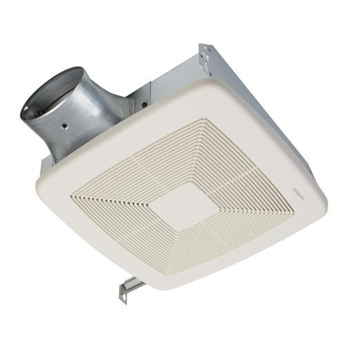Broan® 50-80-100 Selectable CFM Ventilation Fan, ENERGY STAR®