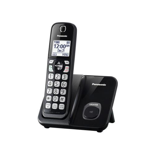 Gallery - Expandable Cordless Phone with Call Block - 1 Handset - KX-TGD510B