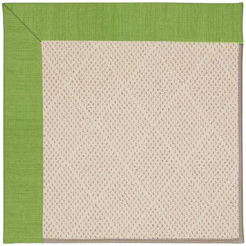 "Creative Concepts-White Wicker Canvas Lawn - Rectangle - 24"" x 36"""
