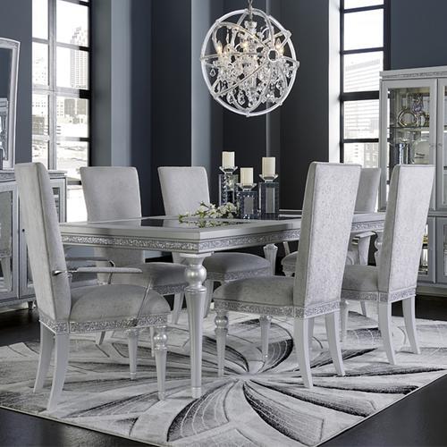 4 Leg Upholstered Dining Table