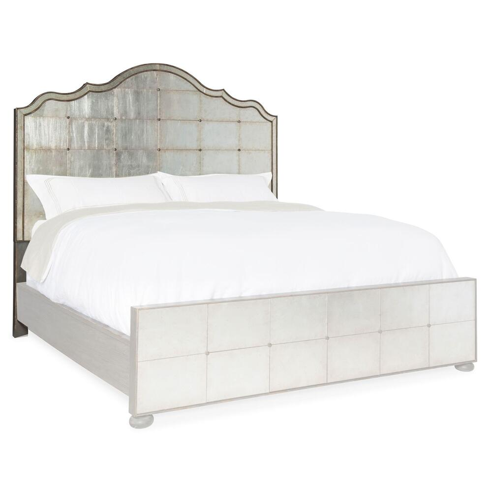 Bedroom Arabella 6/0-6/6 Mirrored Panel Headboard