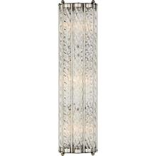 AERIN Eaton 3 Light 6 inch Polished Nickel Linear Sconce Wall Light