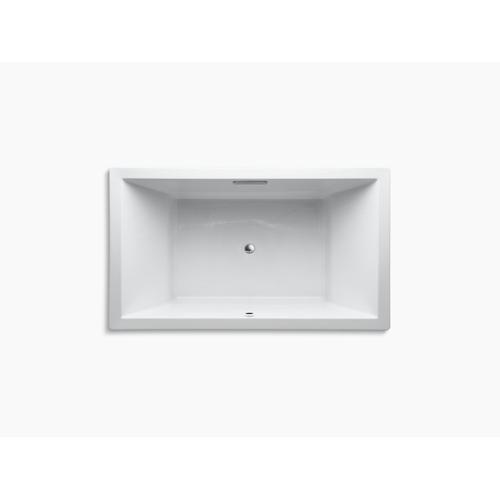 "Dune 72"" X 42"" Drop-in Bath With Bask Heated Surface and Center Drain"