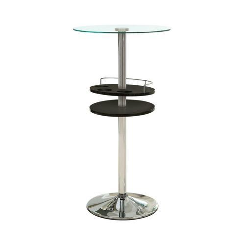 Contemporary Black Bar Table