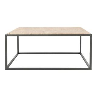 Winslow Marble Coffee Table Cappuccino