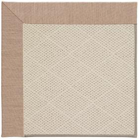 Creative Concepts-White Wicker Cast Petal Machine Tufted Rugs