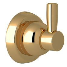 See Details - Holborn Wall Mount Single Robe Hook - Unlacquered Brass