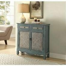 ACME Winchell Console Table - 97245 - Antique Blue