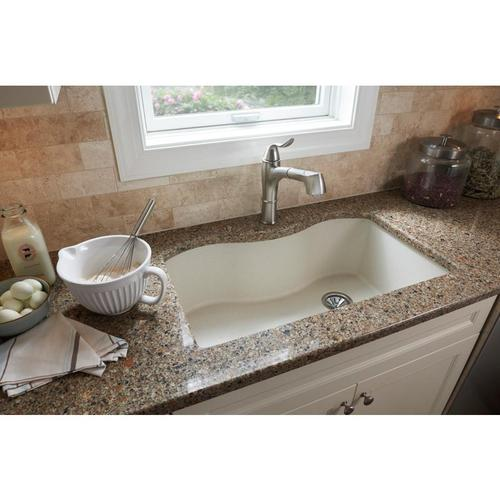 Elkay - Elkay Explore Single Hole Kitchen Faucet with Pull-out Spray Lever Handle with Hi and Mid-rise Base Options Brushed Nickel