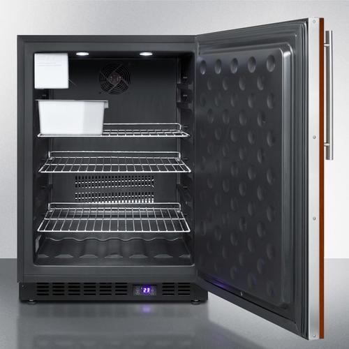 """24"""" Wide Built-in All-freezer With Icemaker"""