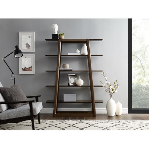 Currant Bookshelf, Black Walnut