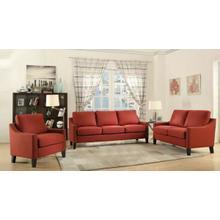 ACME Zapata Sofa - 52490 - Red Linen