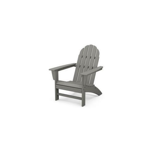 Polywood Furnishings - Vineyard Adirondack Chair in Slate Grey