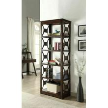 ACME Madge Bookcase, Espresso - 92259