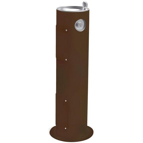 Elkay Outdoor Fountain Pedestal Non-Filtered, Non-Refrigerated Brown