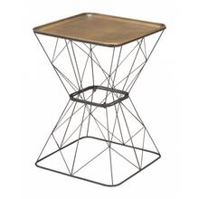 See Details - Timothy Side Table Gold