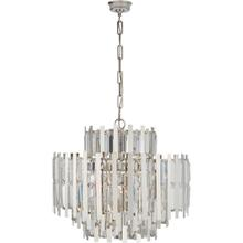 AERIN Ambrois 13 Light 30 inch Polished Nickel Chandelier Ceiling Light, Medium