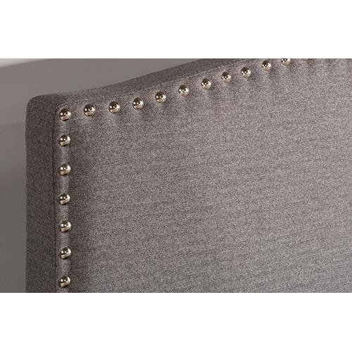 Gallery - Kerstein Adjustable King Storage Bed Set - Orly Gray