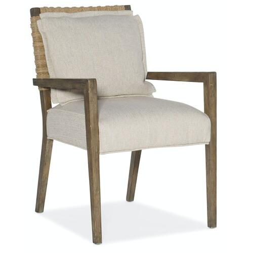 Dining Room Sundance Woven Back Arm Chair-2 per ctn/price ea