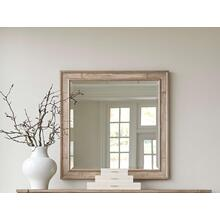 Willow Landscape Mirror - Burlap