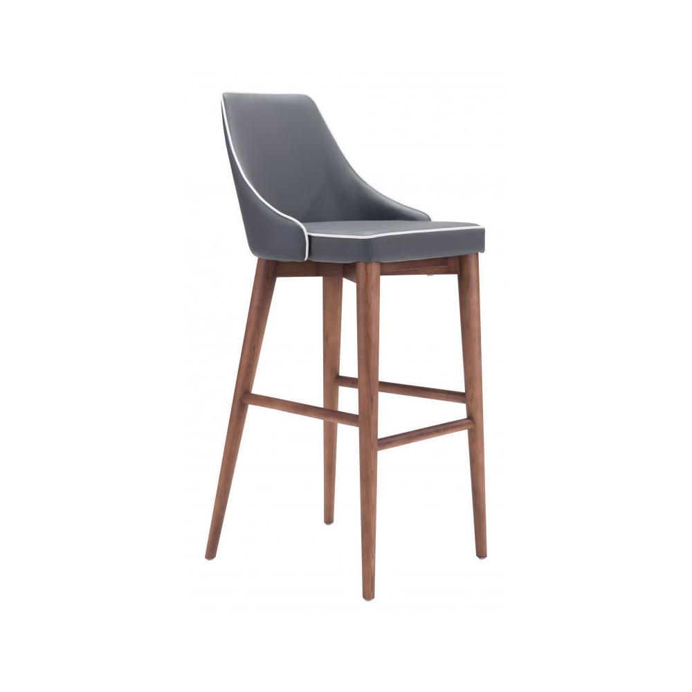 Moor Bar Chair Dark Gray